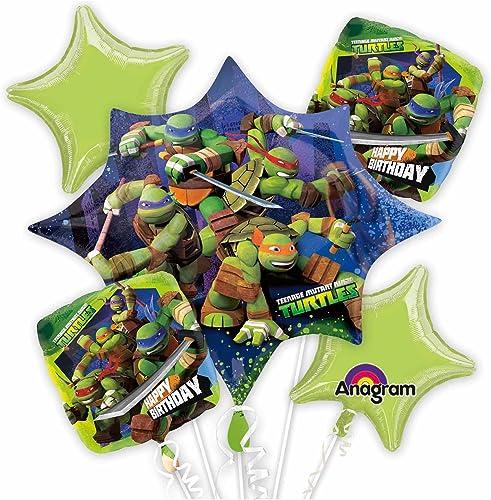 popular Anagram 230568 Nickelodeon Teenage Mutant Mutant Mutant Ninja Turtles Balloon Bouquet by Anagram  Para tu estilo de juego a los precios más baratos.