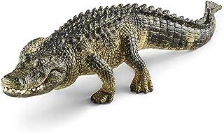 Schleich Alligator Toy Figure, Multi-Colour