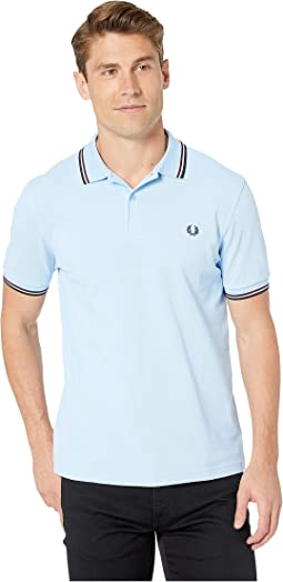 9142bf8f4 Fred perry striped pique shirt