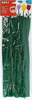 Apli Fils chenille, Vert, Ø 6 mm x 300 mm