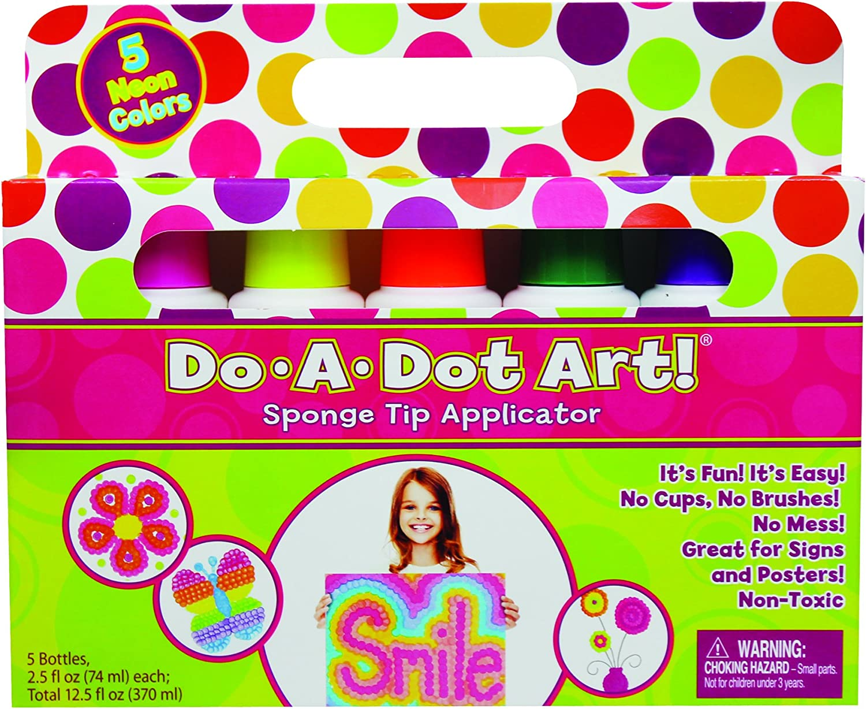 DOADOT ART FLUORESCENT 5 PACK