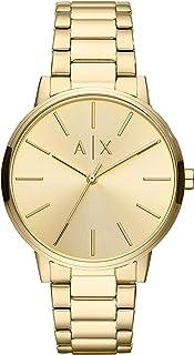 Armani Exchange Gents Wrist Watch, Gold