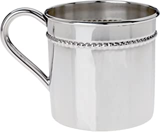 Reed & Barton Classic Bead Sterling Baby Cup, Silver