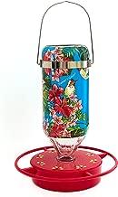 Hummers Galore®, Hummingbird Feeder, Tropical Blue Sky Flower Hanging Feeder, Glass, 16 oz