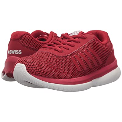 K-Swiss Tubes Infinity (Little Kid) (Chili Pepper/White) Athletic Shoes