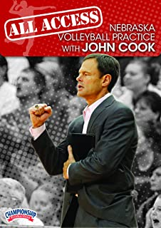 Championship Productions All Access Nebraska Volleyball Practice with John Cook DVD