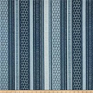 Tommy Bahama 0537511 Indoor/Outdoor Long Weekend Indigo Fabric by the Yard