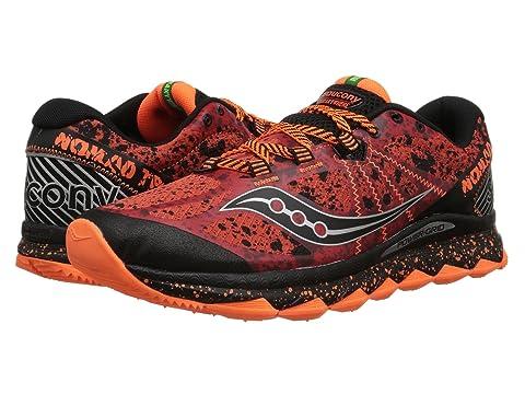 Saucony Nomad TR Red/Black/Orange D - Medium Men's Running Shoes 8530925