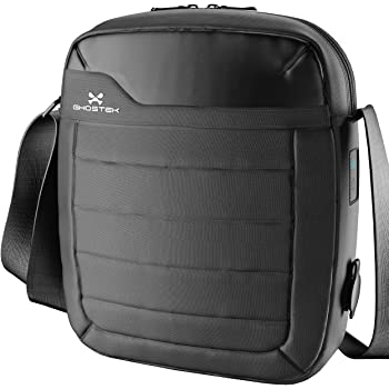 Amazon Com Ghostek Nrgtab Series Water Resistant Usb Charging Tablet Bag With Built In Battery Black Computers Accessories