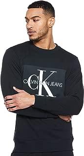 Calvin Klein Men's J307742-Black Pullover Tops