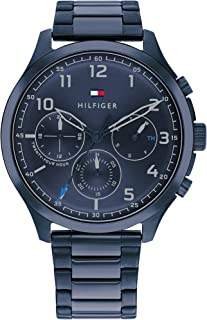 TOMMY HILFIGER ASHER MEN's NAVY DIAL WATCH - 1791853