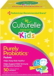 Culturelle Kids Purely Probiotics Packets - Daily Probiotic Supplement - Helps Support a Healthy Immune & Digestive System...