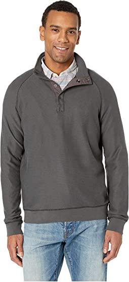 Seacoast Snap Mock Neck Sweater