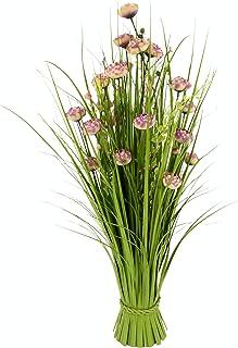 Osterdeko Frühling Ostern Dekoration Flower 10x7x22cm Deko Blume auf Mangoholz