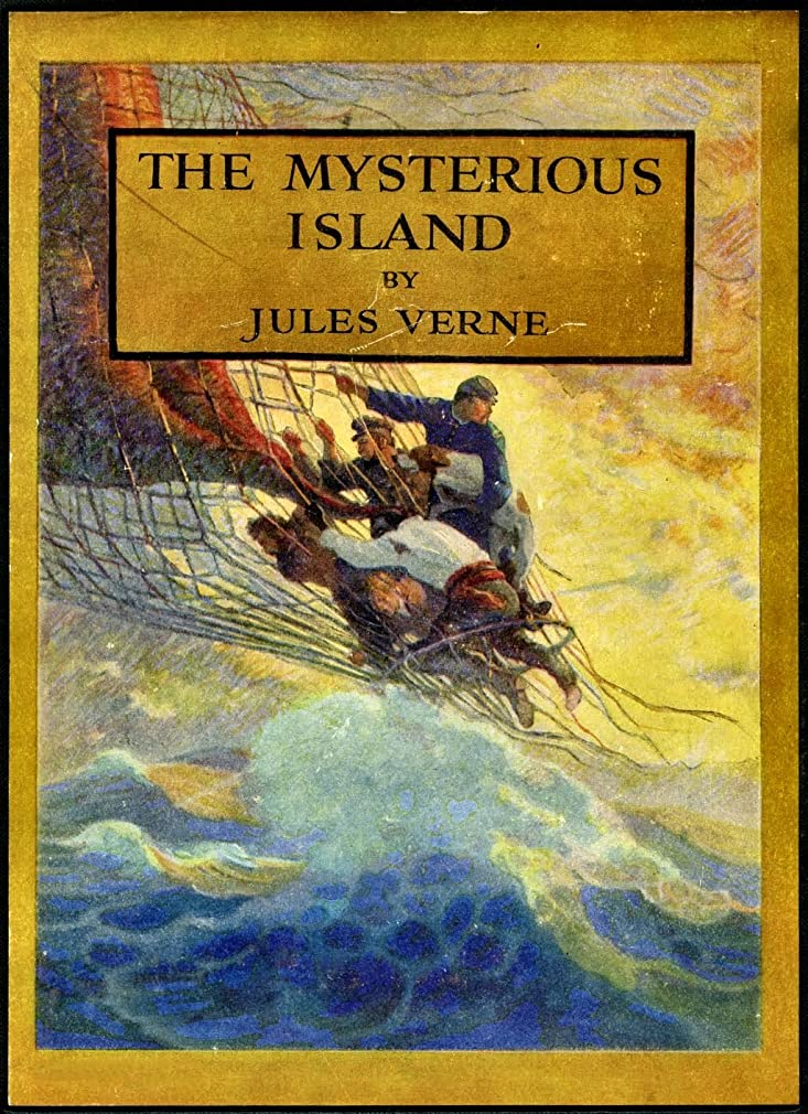 アブセイ倫理グラスThe Mysterious Island Trilogy (Hetzel Illustrations): Dropped from the Clouds; Abandoned; The Secret of the Islands (English Edition)