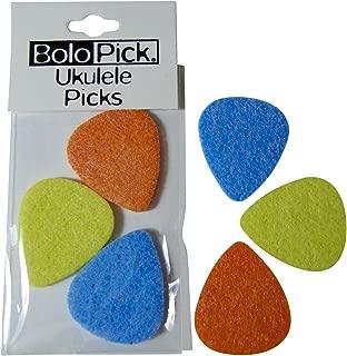 BoloPick Felt Picks for Ukulele 6 Pack (regatta)