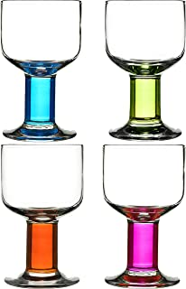 Sagaform Hand-Blown All Purpose Wine Glasses, Set of 4