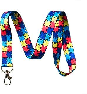 puzzle piece lanyard