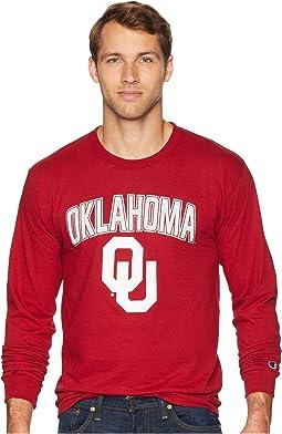 Oklahoma Sooners Long Sleeve Jersey Tee