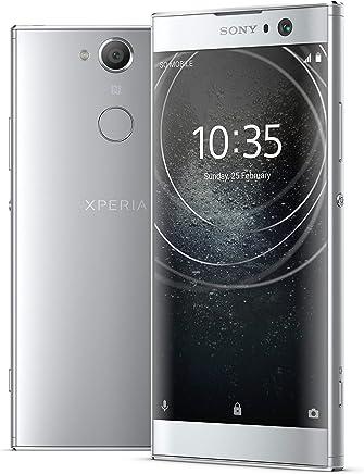 Sony Xperia XA2 teléfono Desbloqueado de fábrica – 5.2 Pulgadas visualización – 32 GB – Plata (renovado)
