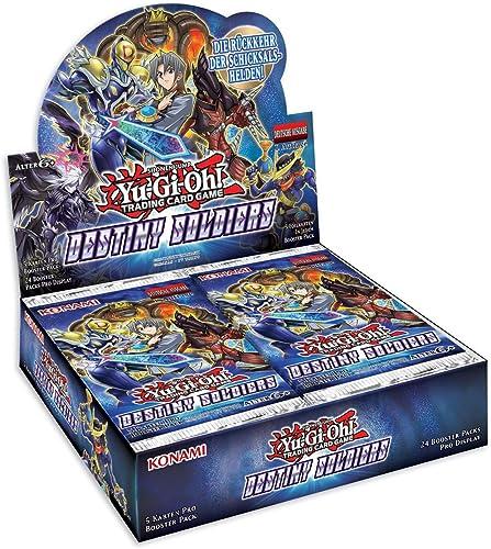 tienda en linea Yu Gi Oh 116718770001 Trading Trading Trading Card Game, Destiny Soldiers Booster Display 24Packs  Mejor precio