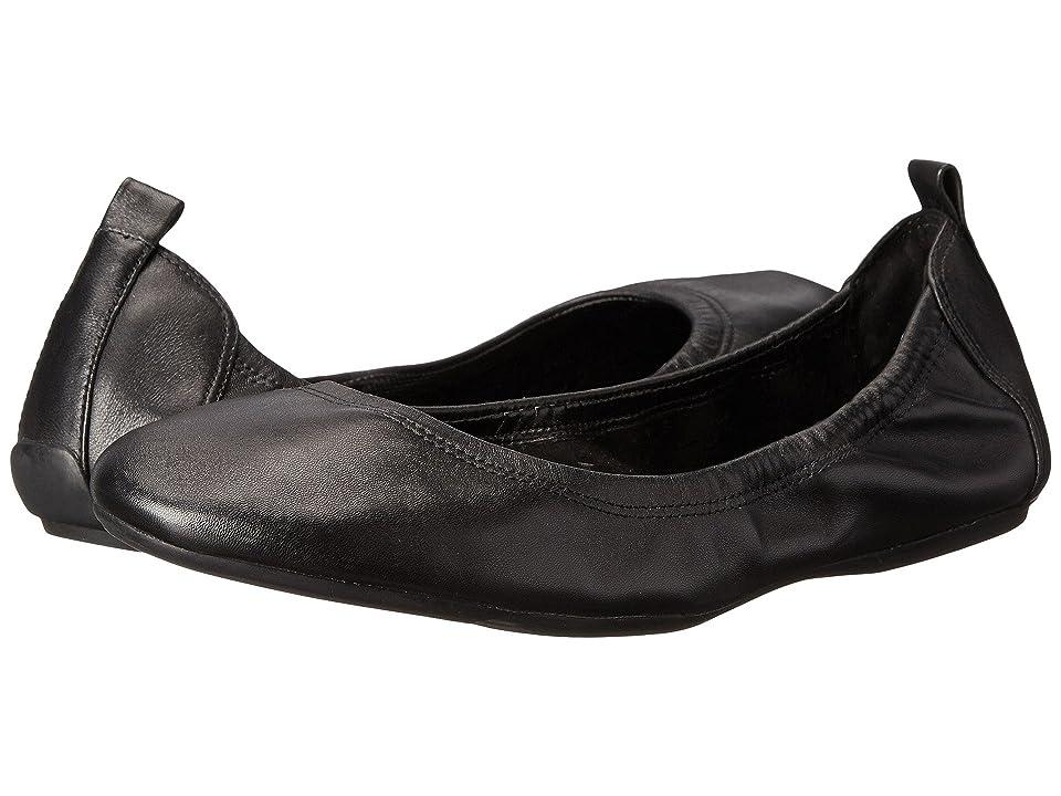 Cole Haan Jenni Ballet II (Black Leather) Women
