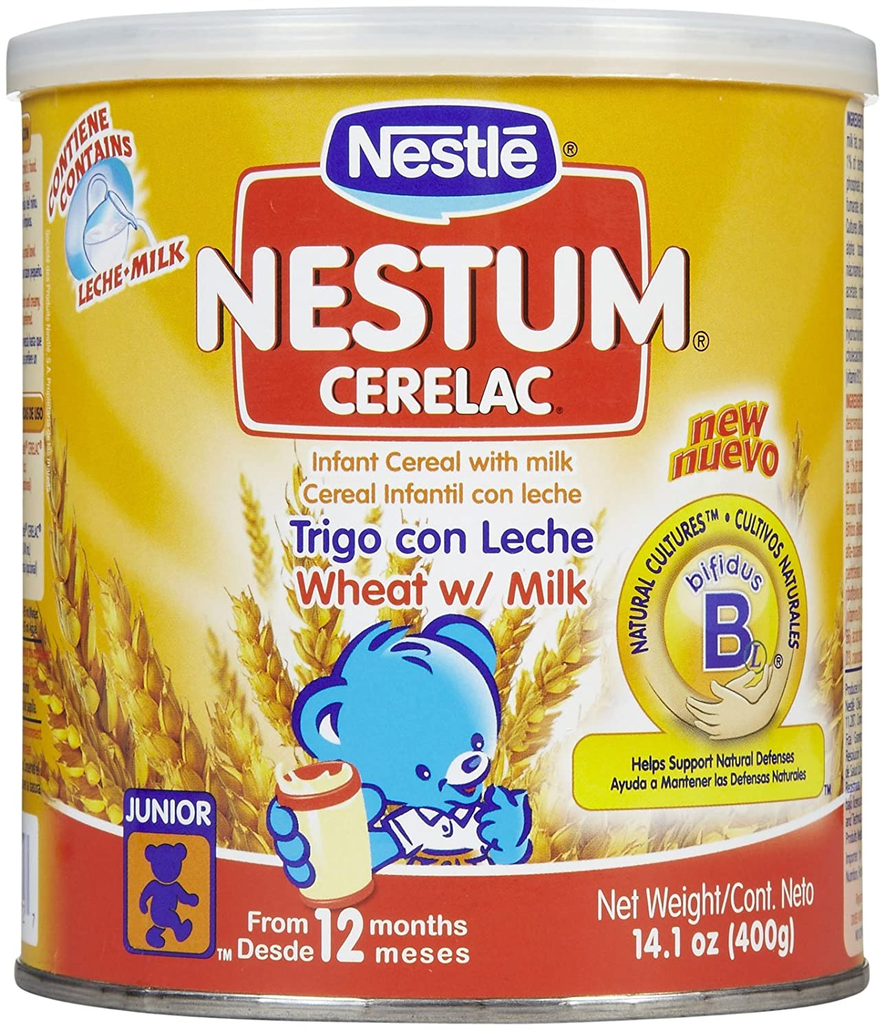 Nestum Baby Outstanding Cereal Mail order - oz 14.1 Wheat Cerelac