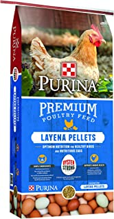 Purina Layena Premium Layer Feed Pellets, 25 lb Bag