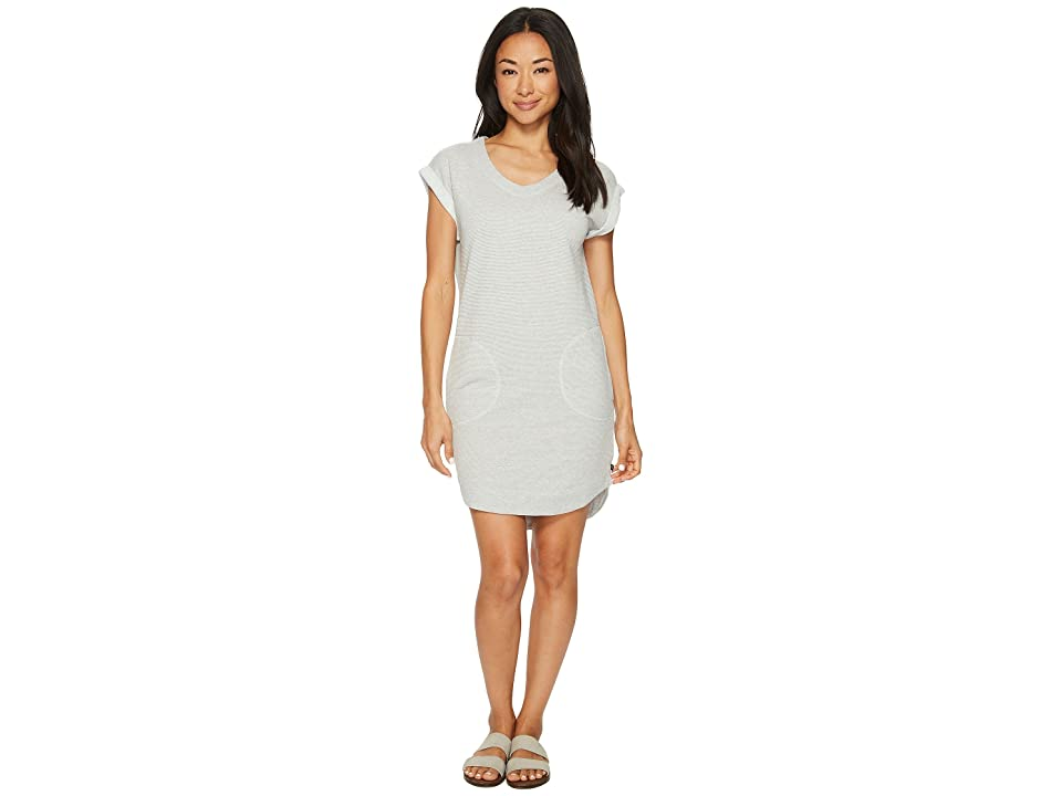 United By Blue Torrin Terry Dress (Grey) Women