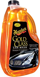 MEGUIAR'S G7164 Gold Class Car Wash Shampoo & Conditioner, 64. Fluid_Ounces