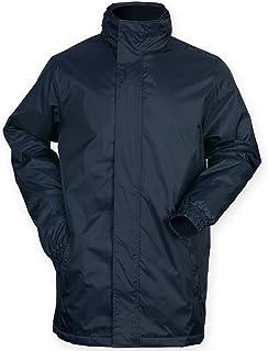 Finden & Hales Mens Touchline Hooded Full Zip Sports Jacket