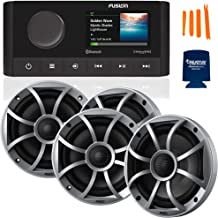 Sponsored Ad - Fusion MS-RA210 Marine AM/FM/BT/NEMA2000/SiriusXM Ready Stereo with 2 Pair Wet Sounds RECON6-S High Output ... photo
