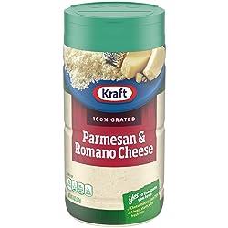 Kraft Parmesan & Romano Grated Cheese (8 oz Bottle)