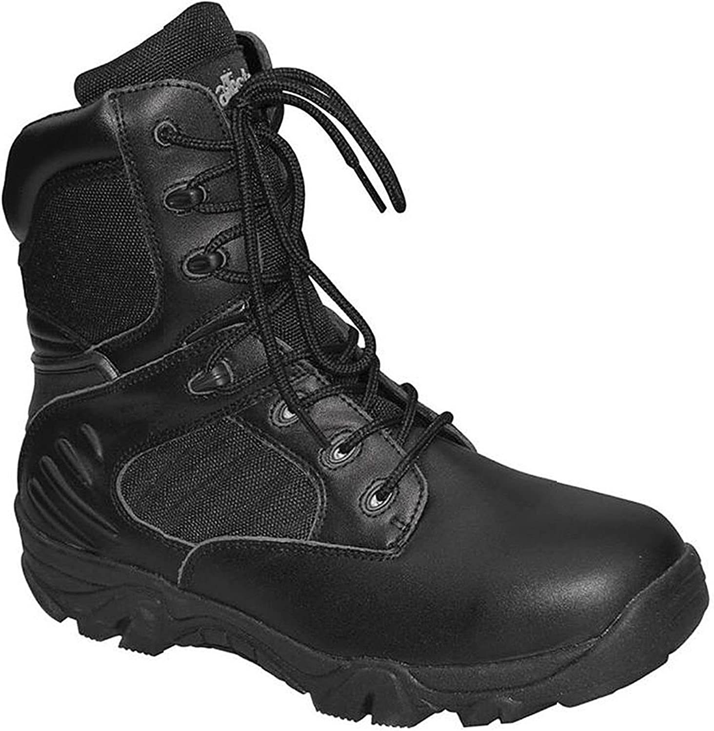MFH BW Mountain Boots Breathtex Black Leather