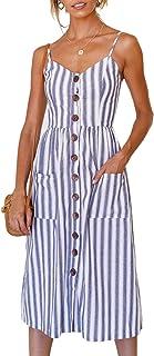 لباس مجلسی زنانه-دکوراسیون تابستانی تسمه اسپاگتی گل بویایی تابستانی ، نوسان دکوراسیون لباس تند و جیب