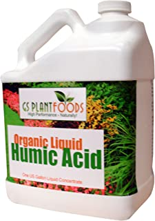 Organic Liquid Humic Acid with Fulvic Increased Nutrient Uptake for Turf, Garden and Soil..