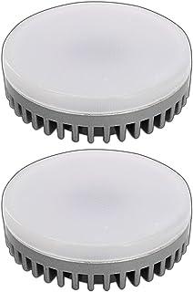 comprar comparacion PB-Versand® – 2lámparas led GX53,8W / equivale a 55W, regulables, blanco cá...