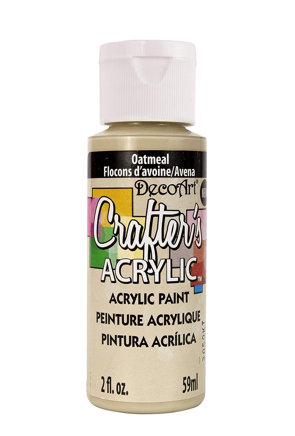 DecoArt DCA138-3 Crafter's Acrylic Paint, 2-Ounce, Oatmeal