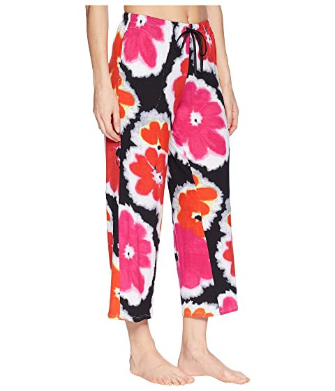 Sale Discounts Donna Karan Floral Capri Pants Black Floral Best Store To Get Cheap Online Cheap Sale Order Wide Range Of Sale Online 8Pvbo
