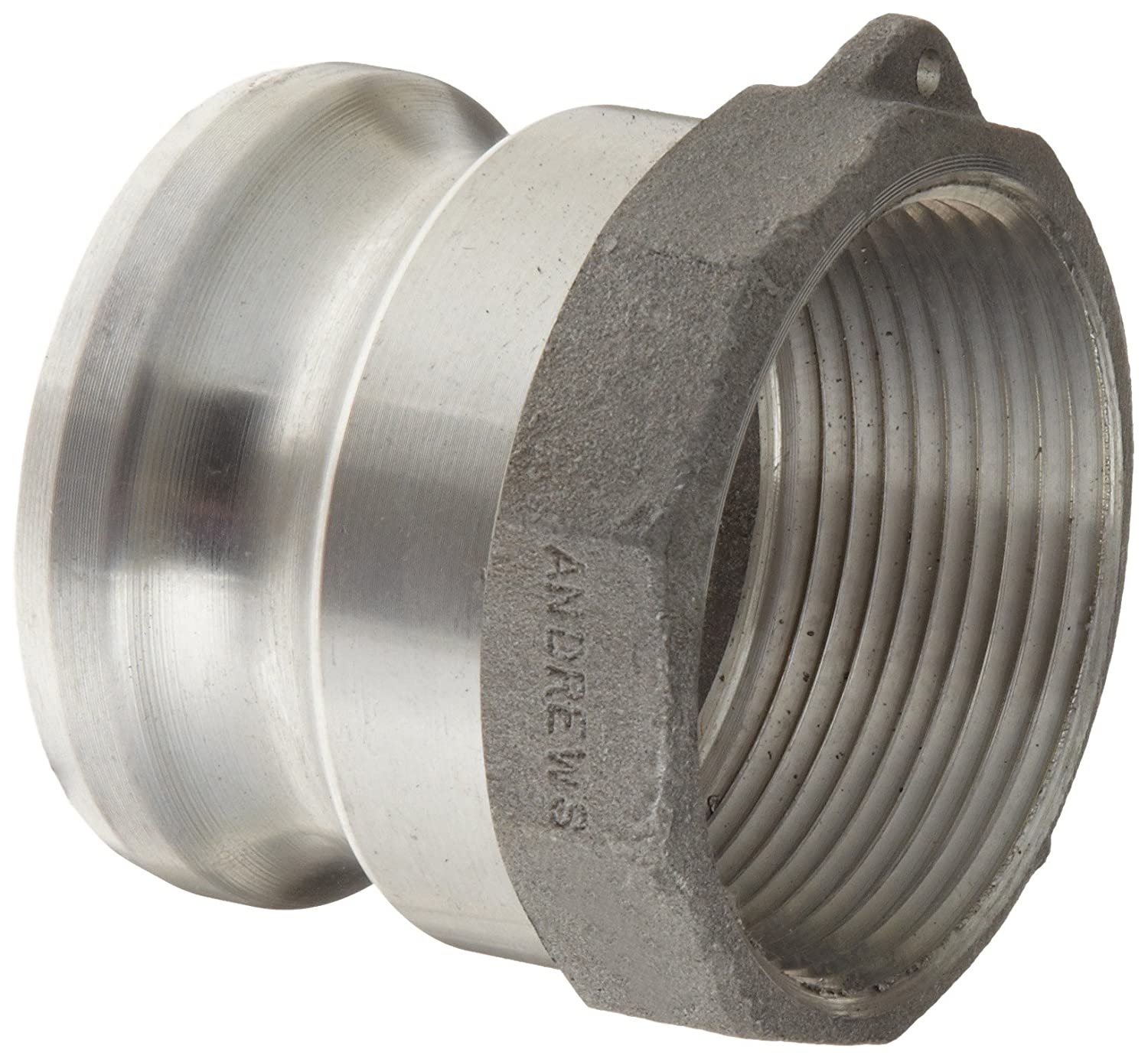 Dixon Boss-Lock 250-A-AL Type A Cam and Groove Adapter 2-1-2 150 psi
