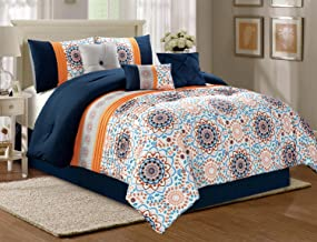 Best bedding with orange accents Reviews
