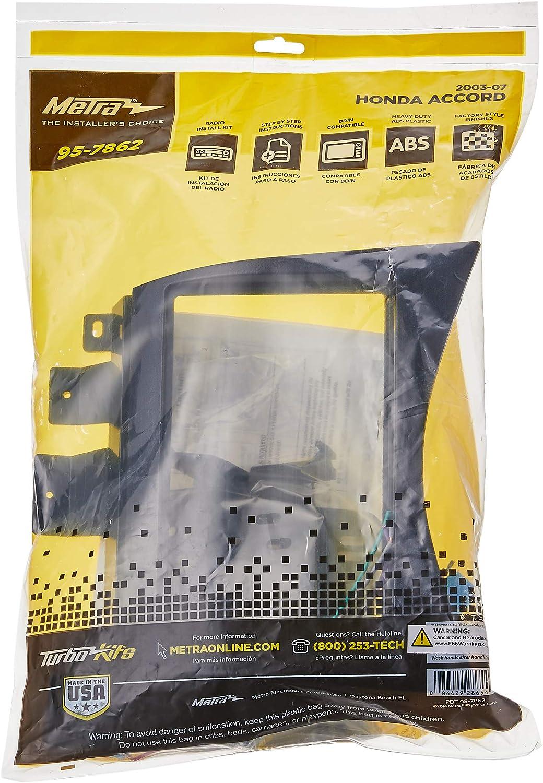 Noir Kit de Montage dAutoradio Standard 2DIN faisceau et adaptateurs dantenne Fa/çade Aerzetix C11144A