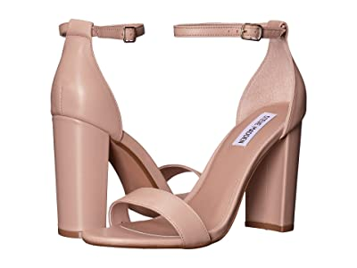 Steve Madden Carrson Heeled Sandal (Blush Leather) High Heels