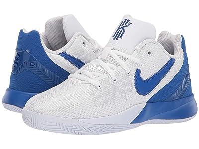Nike Kids Kyrie Flytrap II (Big Kid) (White/Game Royal) Boys Shoes