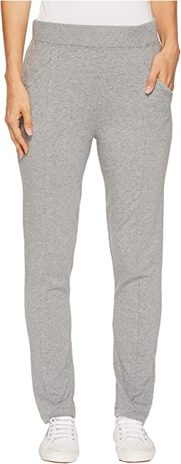 Cotton Modal Fleece Raw Edge Seamed Pants