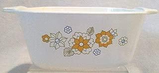 Vintage Corning Ware Floral Bouquet P-43-b Casserole Dish