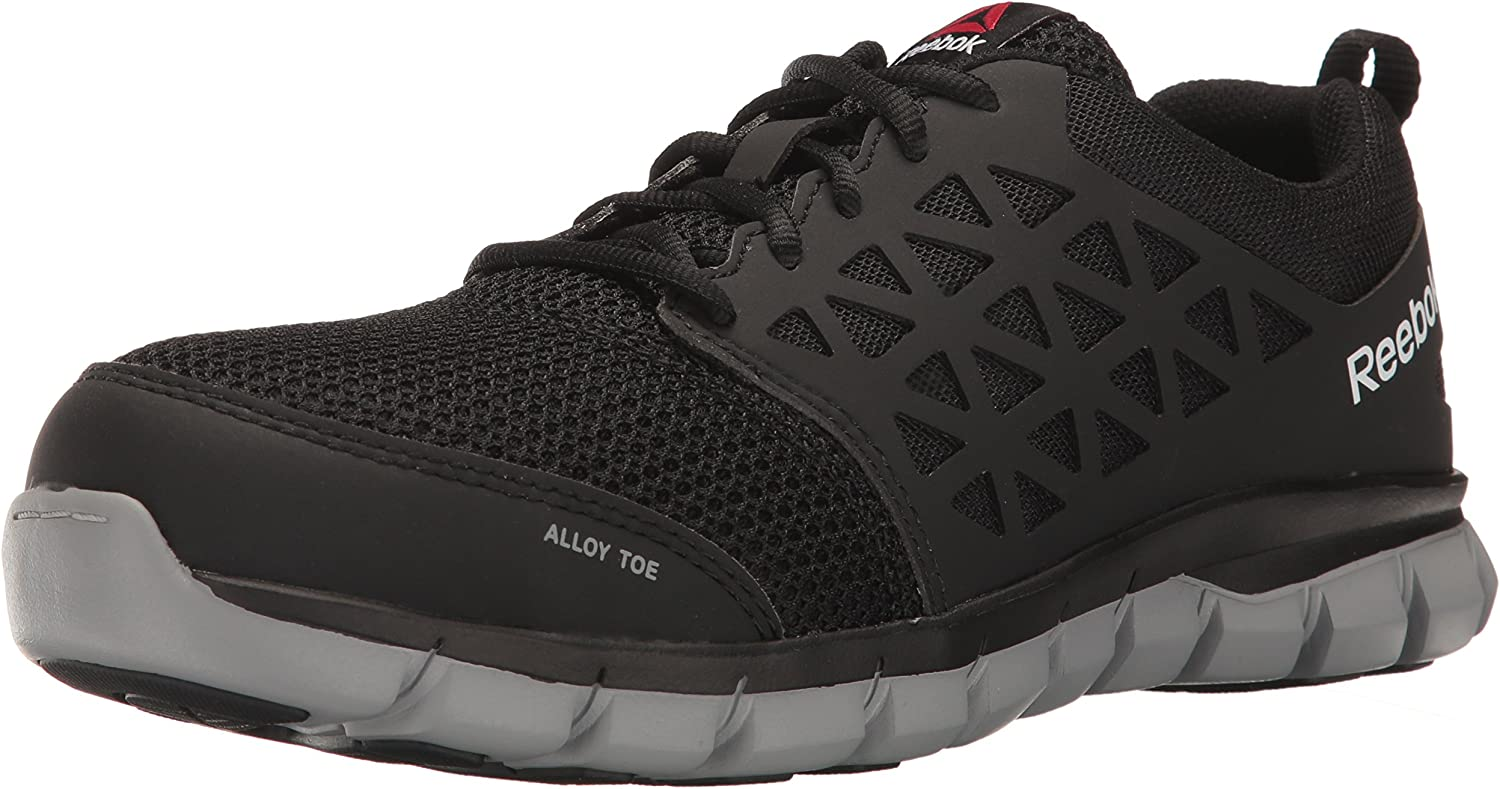 Reebok Men's Rb4041 Sublite Cushion Safety Toe Athletic Work Industrial & Construction Shoe