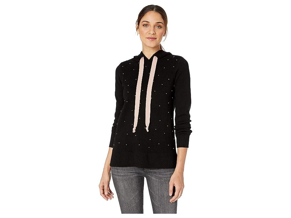 kensie Comfy Viscose Blend Sweater KS1K5916 (Black) Women