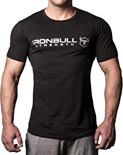 Iron Bull Strength - T-Shirt - Classic Series Gym Workout Sports Bodybuilding Fitness Training