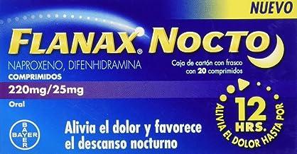Flanax Nocto Comprimidos, 220/25 mg, 20 Piezas